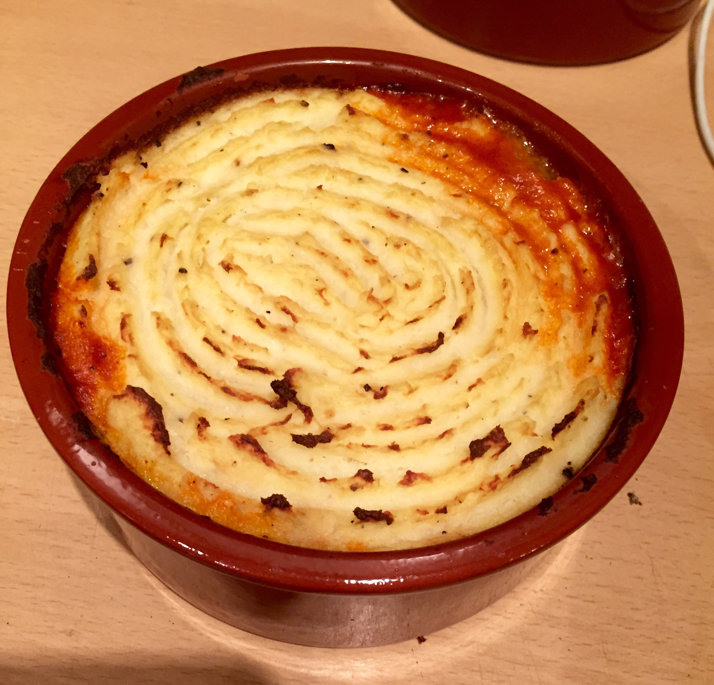 Cottage Pie with Cauliflower Mash Topping